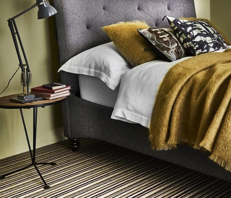 فرش طرح دار برای اتاق خواب