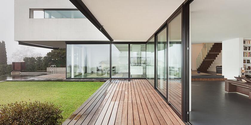 مزایای استفاده از پنجره های بلند