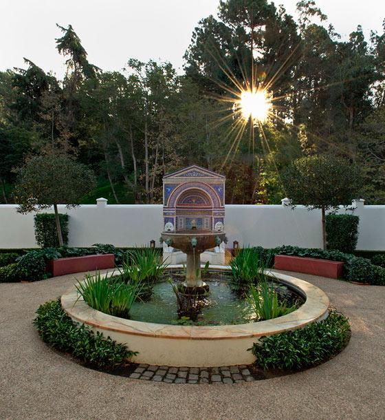 ساخت فواره در باغ